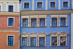 Colorful old houses Stock Photos