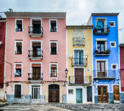 Colorful old houses Stock Photo