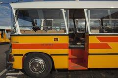 Colorful Old Maltese Bus. VALLETTA/MALTA 29TH DECEMBER 2006 - Colorful Old Maltese Bus Stock Photos