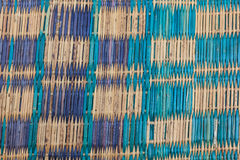 Colorful old mat Royalty Free Stock Photography