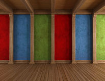 Colorful old room Stock Photography