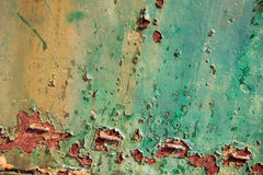 Colorful old rusty surface texture background. Stock Image