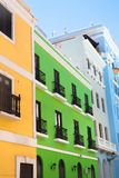 Colorful Old San Juan Puerto Rico Architecture royalty free stock photography