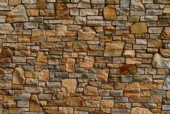 Colorful Old Stone Wall Texture Stock Photos