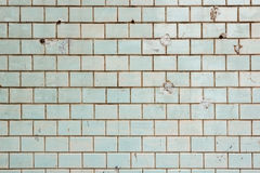 Colorful old tile wall background. Royalty Free Stock Photography