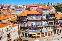Colorful old traditional buildings of Porto Stock Photo