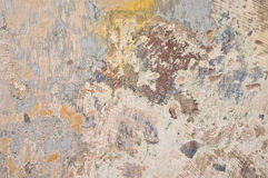 Colorful old wall Stock Images