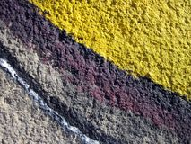 Painted old wall texture suitable as background Stock Photography