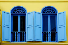 Colorful Old Window I Royalty Free Stock Images