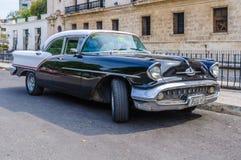 Colorful oldtimer in la Habana Vieja, Cuba Stock Photography