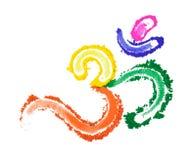 Color Om Symbol Stock Photo