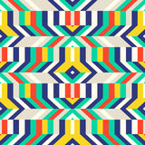 Colorful op art pattern Royalty Free Stock Photos