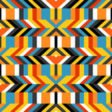 Colorful op art pattern Royalty Free Stock Photo