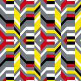 Colorful op art pattern Royalty Free Stock Images