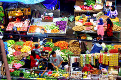 Colorful open air market, Indonesia Royalty Free Stock Image