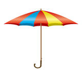 Colorful opening umbrella vector Stock Images