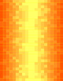 Colorful orange mosaic Royalty Free Stock Images