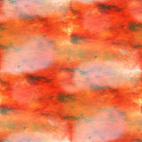 colorful orange pattern water texture paint color abstract seamless watercolor background vector illustration