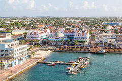 Colorful Oranjestad Aruba Royalty Free Stock Photos