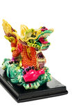 Colorful Oriental Dragon Ornament Royalty Free Stock Images