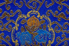 Colorful oriental embroidery Royalty Free Stock Photography