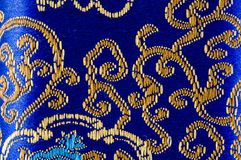 Colorful oriental embroidery Royalty Free Stock Photo