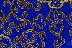 Colorful oriental embroidery Stock Photography