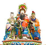 Colorful oriental god Stock Photo