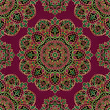 Colorful oriental ornament. Stock Photography