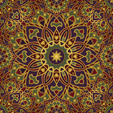 Colorful oriental ornament. Royalty Free Stock Image