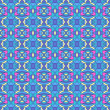 Colorful oriental pattern Royalty Free Stock Photo