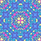Colorful oriental pattern Royalty Free Stock Images