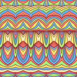 Colorful oriental pattern Royalty Free Stock Image