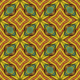 Colorful Oriental Seamless Pattern Stock Photo