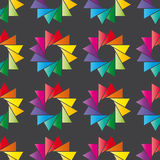 Colorful ornament pattern vector tile Royalty Free Stock Photo