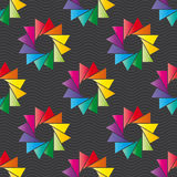 Colorful ornament pattern vector tile Royalty Free Stock Image