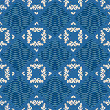Colorful ornament pattern vector tile Stock Photography
