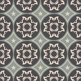 Colorful ornament pattern vector tile Royalty Free Stock Photography