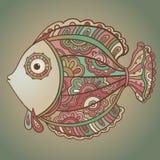 Colorful ornamenta fish Stock Image