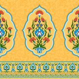 Colorful Ornamental Pattern In Eastern Style Royalty Free Stock Image