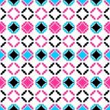 Colorful ornamental pattern - seamless. Stock Image