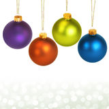 Colorful ornaments Royalty Free Stock Images