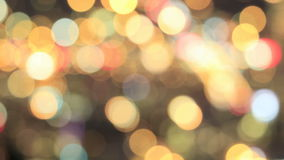 Colorful Out of Focus Blurred Bokeh Background stock video