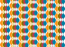 Colorful oval columns background Stock Photo