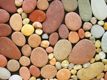 Colorful natural stones abstract Stock Photography