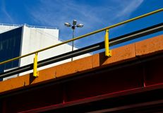 Colorful overpass Stock Image
