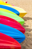 Colorful Paddle Boards Stock Images