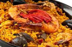 Colorful Paella Royalty Free Stock Image