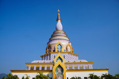 Colorful pagoda Royalty Free Stock Photography