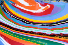 Colorful Paint Abstract Pattern Royalty Free Stock Image